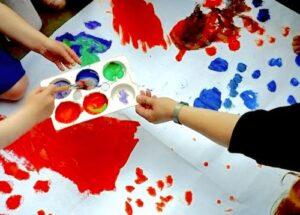Applepips nursery Rustington painting