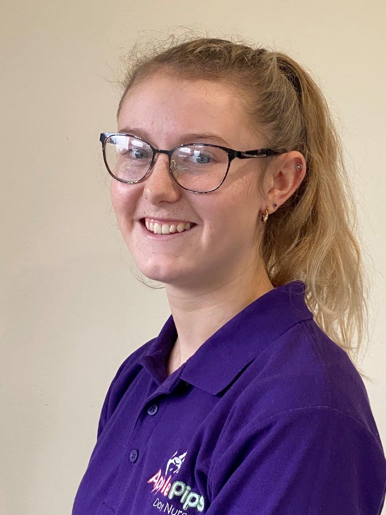 Lana - staff member at Apple Pips Day Nursery Rustington