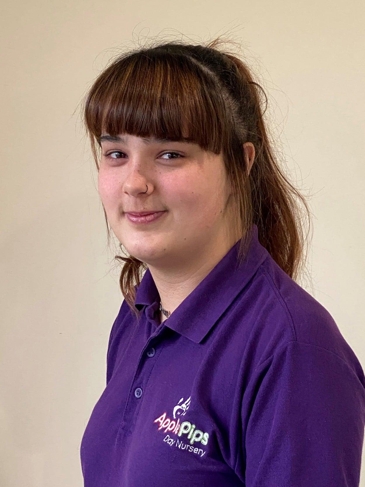 Rebecca - staff member at Apple Pips Day Nursery Rustington
