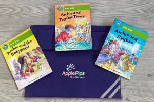applePips Nursery Book bag scheme
