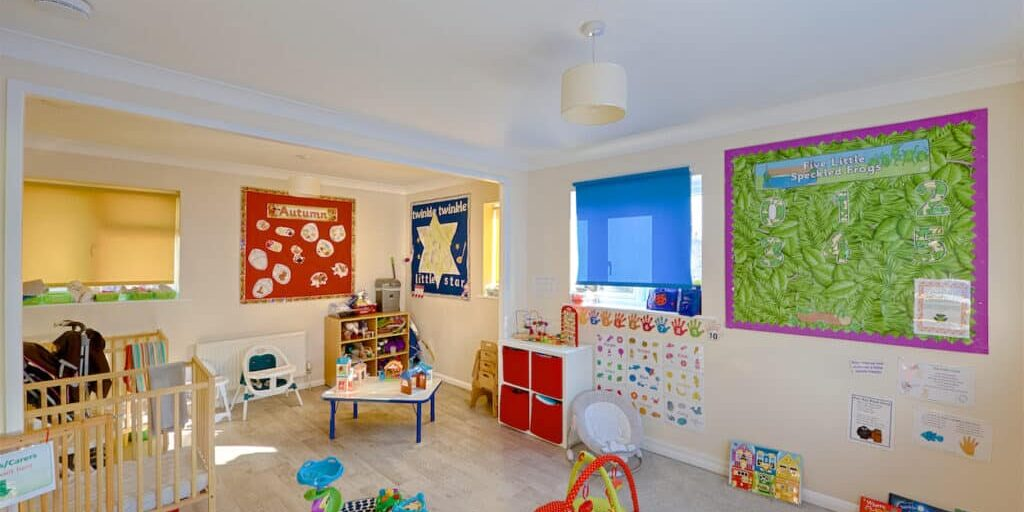 Butterflies cots and baby area - Applepips Day Nursery Rustington